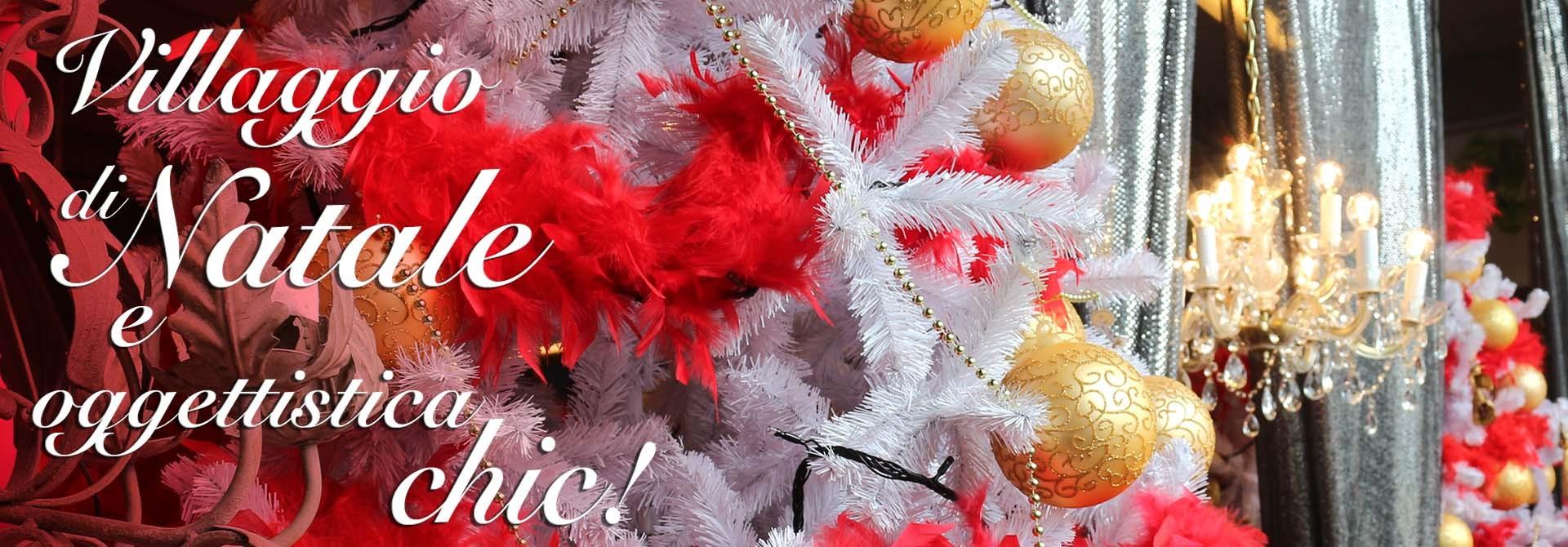 Decorazioni natalizie e oggettistica per il natale